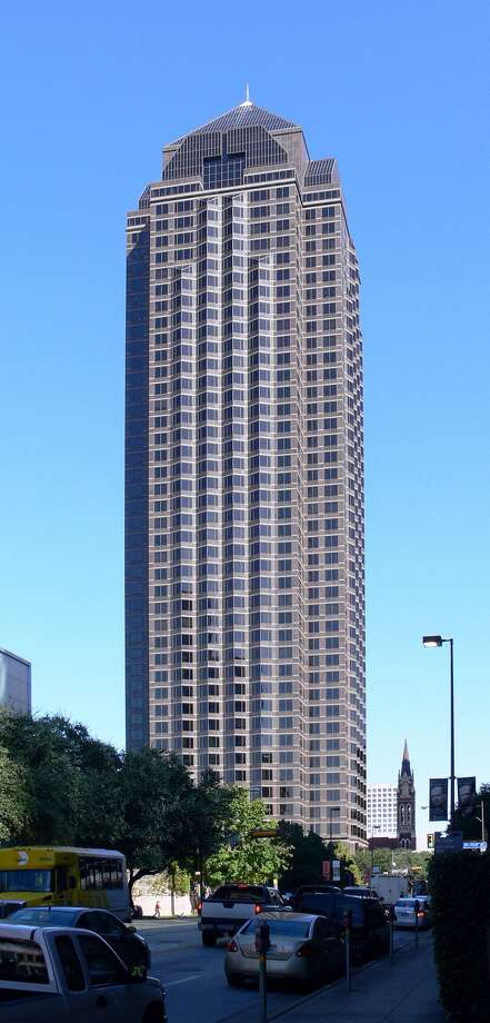Trammell Crow Center in Dallas: 686 feet, 50 stories Photo: Andreas Praefcke / Wikipedia Commons