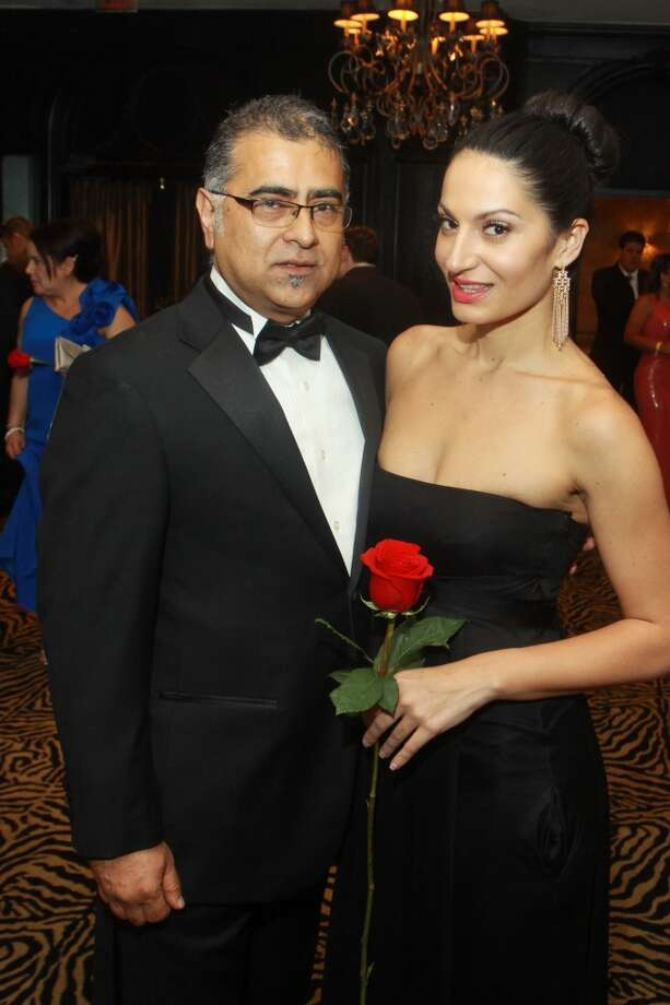 Juan and Shiva Depavia at the Annual Latino Learning Center Night with the Stars Gala.