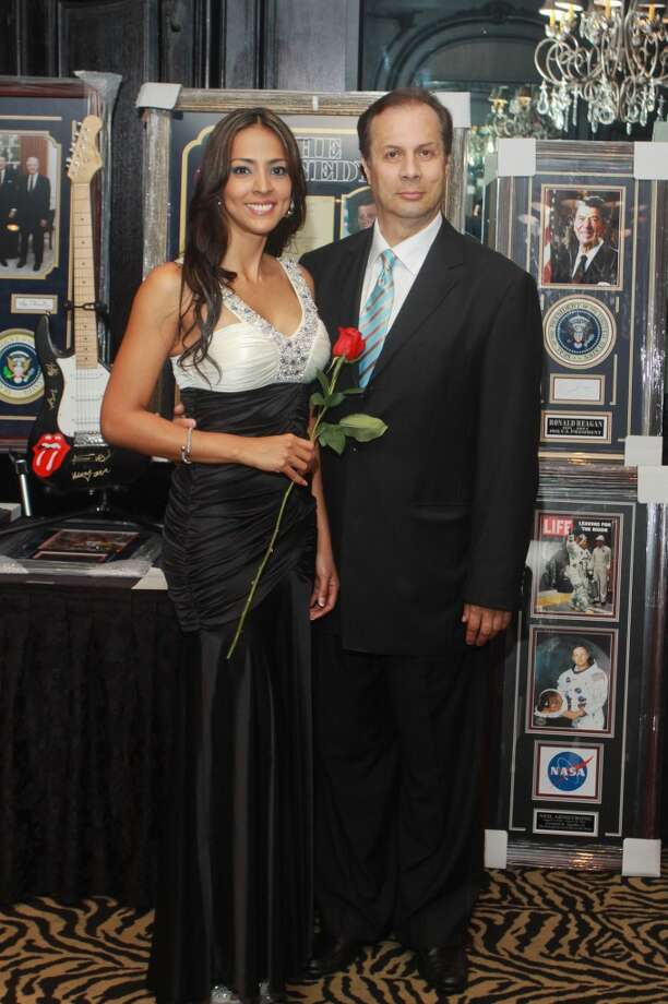 Diana Carreno and Jorge Arevalo at the Annual Latino Learning Center Night with the Stars Gala.