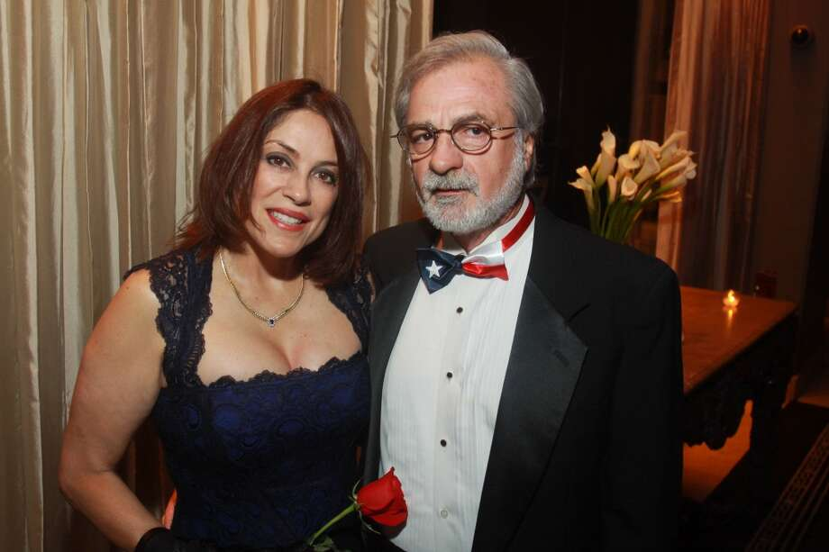 Sophia Barnes and Gonzalo Filgueira at the Annual Latino Learning Center Night with the Stars Gala.