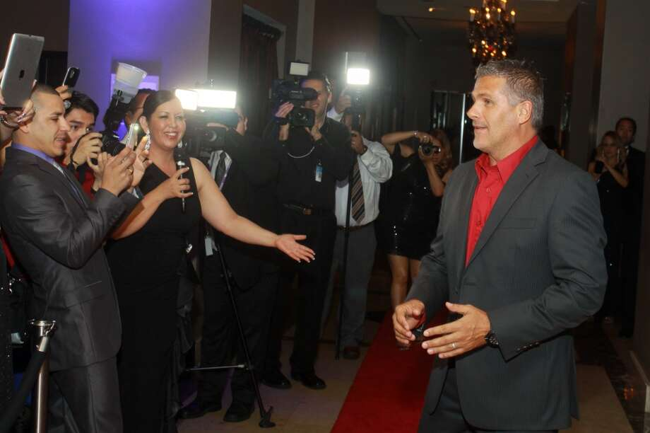 The red carpet at the Annual Latino Learning Center Night with the Stars Gala.