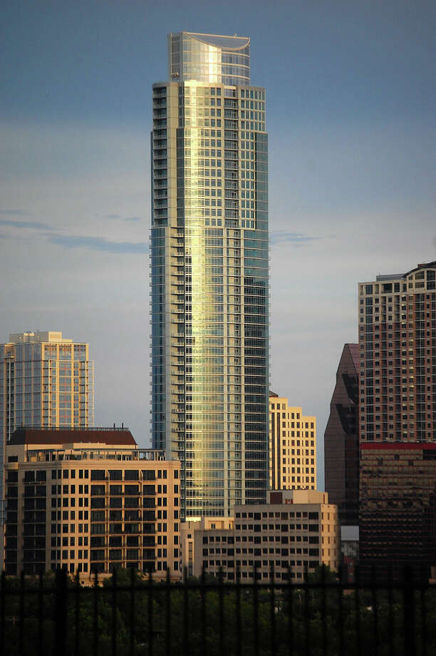 The Austonian in Austin: 683 feet, 69 stories Photo: LoneStarMike / Wikipedia Commons