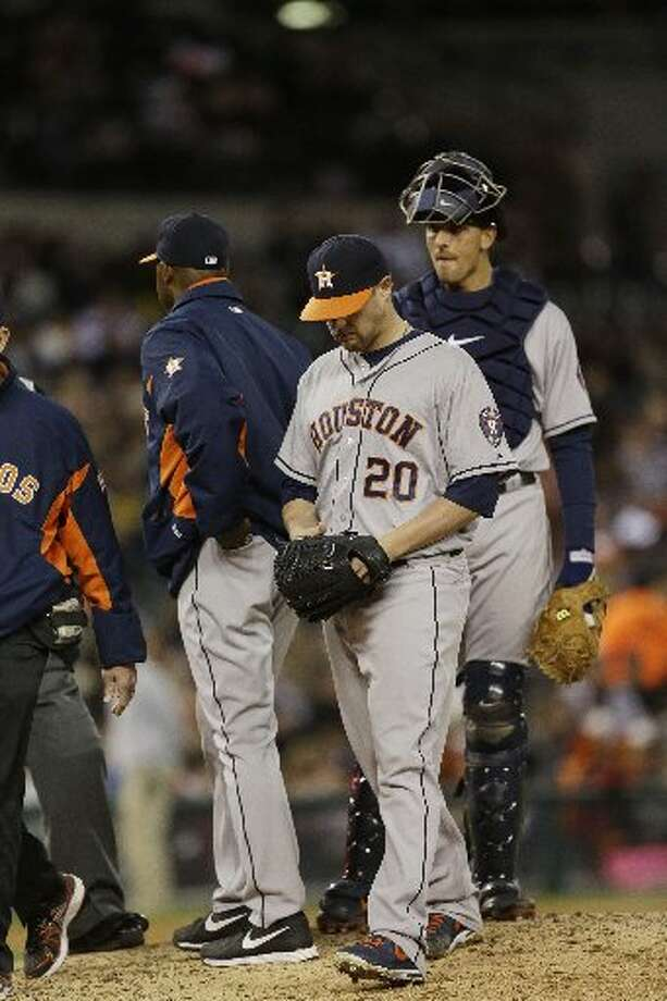 You support the Astros even when they do horrible. -davidp,twitter Photo: AP
