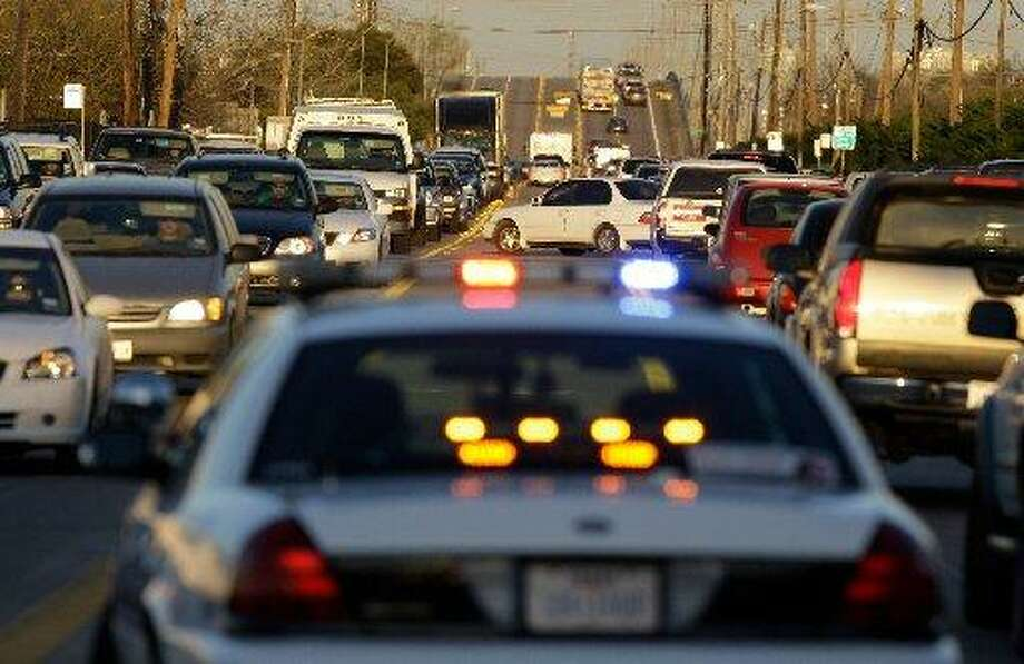 You'd rather stay late at work than deal with rush hour traffic. -thepaceofitall,Twitter Photo: Melissa Phillip, Houston Chronicle