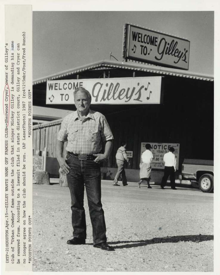 You took out-of-town visitors to Gilley's, but never saw much other reason to go there. --Roberta MacInnis / Houston Chronicle Photo: Fred Bunch, Houston Chronicle / Houston Post Files