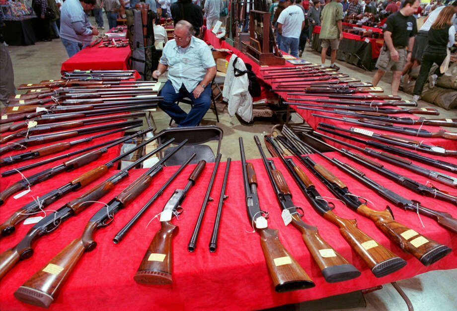 You go to the gun show. --Elizabeth Pudwill / Houston Chronicle Photo: E.J. FLYNN, AP / AP