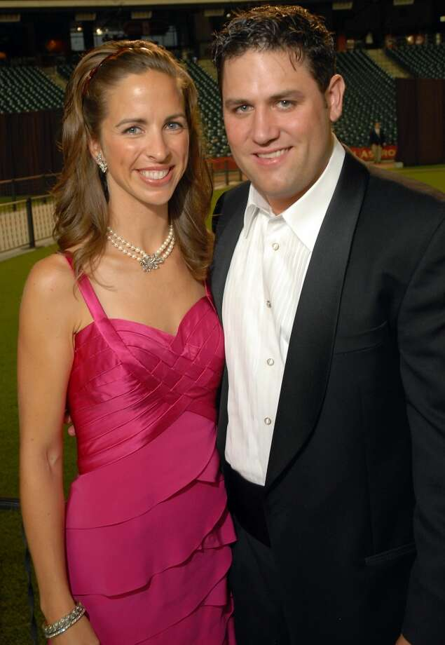 2008 Kara and Lance Berkman at the Astros Wives Gala at Minute Maid Park