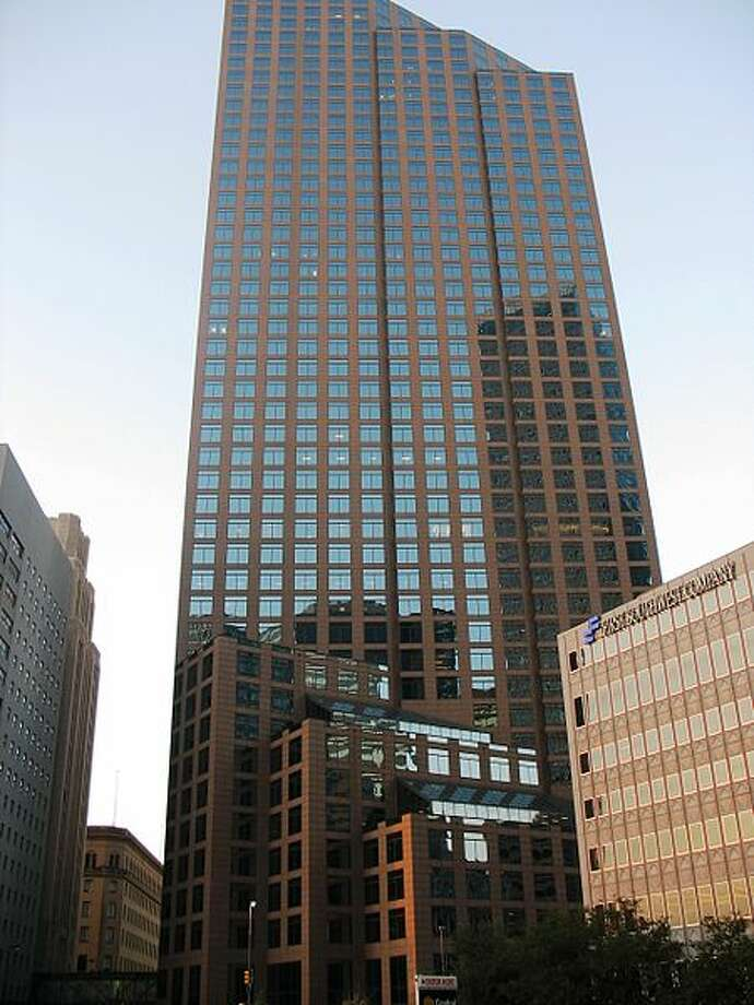 1700 Pacific in Dallas: 660 feet, 50 stories Photo: Wikipedia Commons