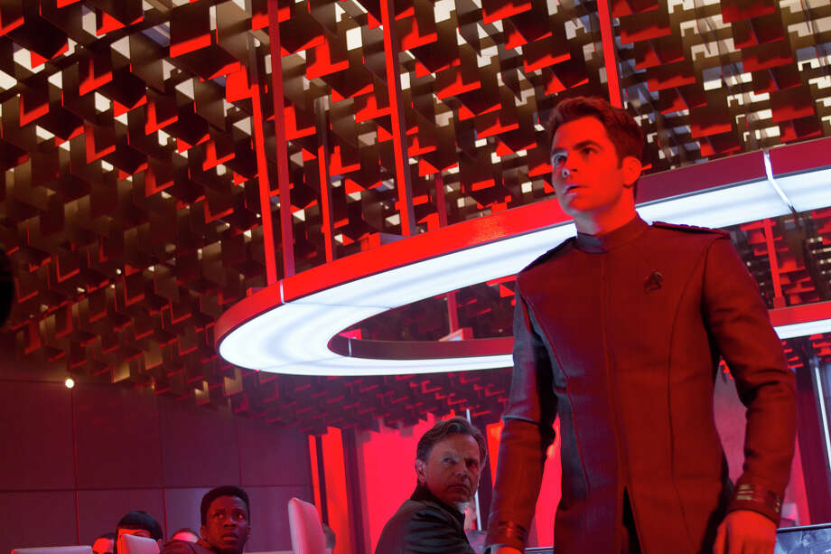 Paramount has released these images as part of a sneak peek of Star Trek: Into Darkness, which opens on May 16. Photo: Photo Credit: Zade Rosenthal, Paramount Pictures / © 2012 Paramount Pictures.  All Rights Reserved.