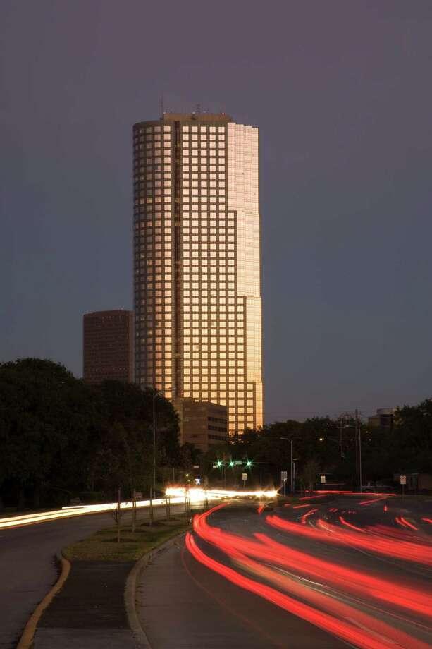 San Felipe Plaza in Houston: 625 feet, 45 stories Photo: Thomas Properties Group / handout