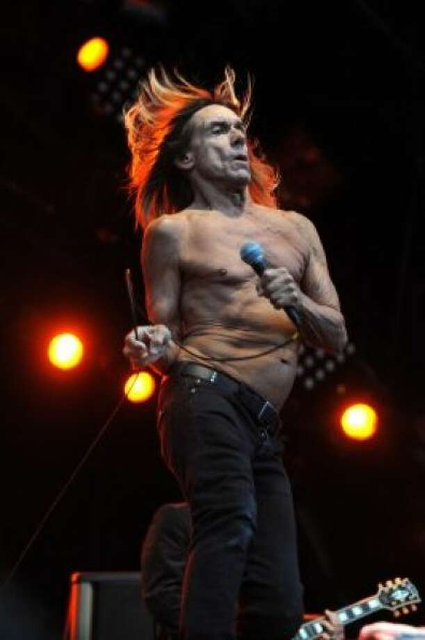 Iggy Pop & the Stooges 7:50 p.m. June 1, Stage 6   They single handledly became the godfathers of punk, metal, and changed the course of musical history for decades to come.