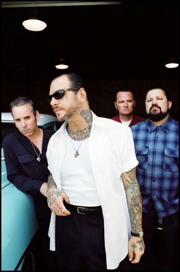 Social Distortion 9 p.m. June 2, Stage 6  Social Distortion are writing its own history by remaining steadfast in their loud, highly tattooed corner of rock n' roll and refusing to make any concessions to time.