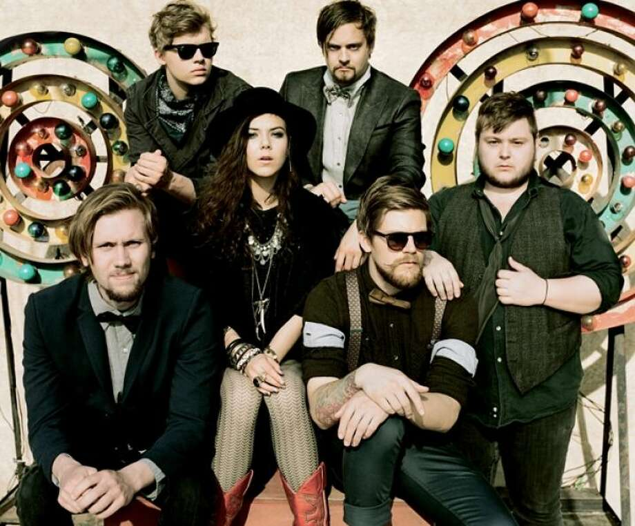 "Of Monsters And Men 5:40 p.m. June 2, Stage 3  Of Monsters and Men is an amiable group of five day dreamers from Iceland whose debut album ""My Head Is An Animal"" is a collection of infectious folkie pop songs."