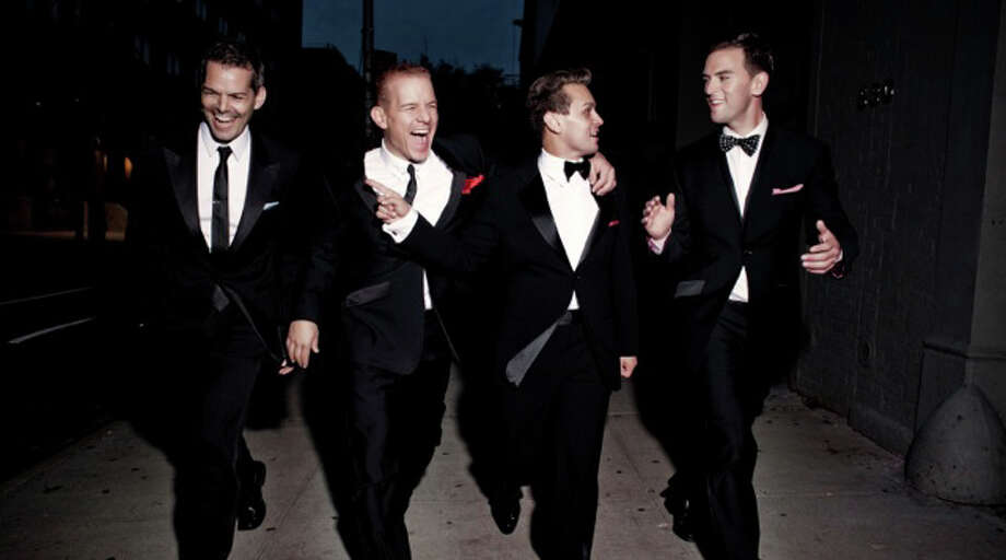 "The Midtown Men, made up of four of the original cast members of the Broadway smash hit ""Jersey Boys,"" are set to perform in Stamford, Conn., at the Palace Theatre, 61 Atlantic St., at 8 p.m. on Friday, May 17. For more information and ticket prices, call 203-325-4466 or visit http:://www.scalive.org. Photo: Contributed Photo"