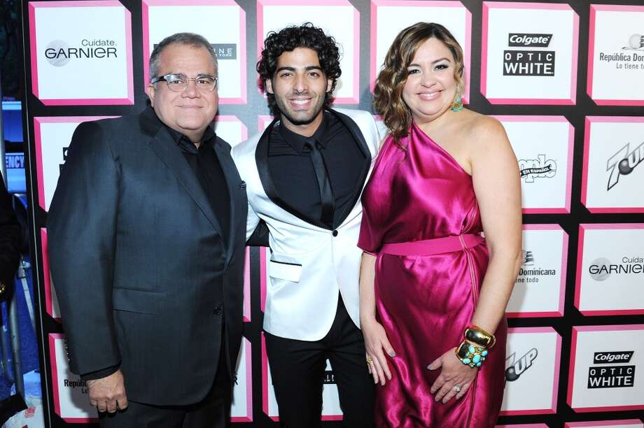Editor of People en Espanol Armando Correa, actor Jason Canela, and Publisher of People en Espanol Monique Manso