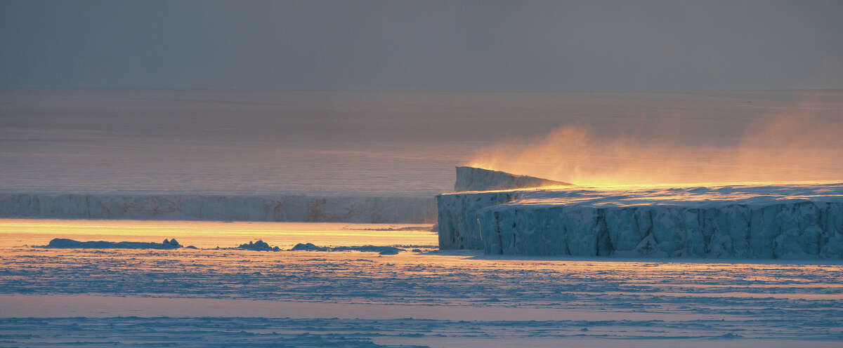 The ice of the Arctic seems timeless, but it is thinning and the North Pole icepack may be gone in summer by 2050.