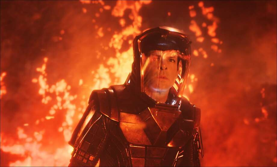 """Zachary Quinto stars in, """"Star Trek Into Darkness."""" Photo: Industrial Light & Magic, Paramount Pictures"""