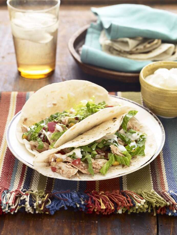 Good Housekeeping recipe for BBQ Chicken Tacos. Photo: Kate Mathis