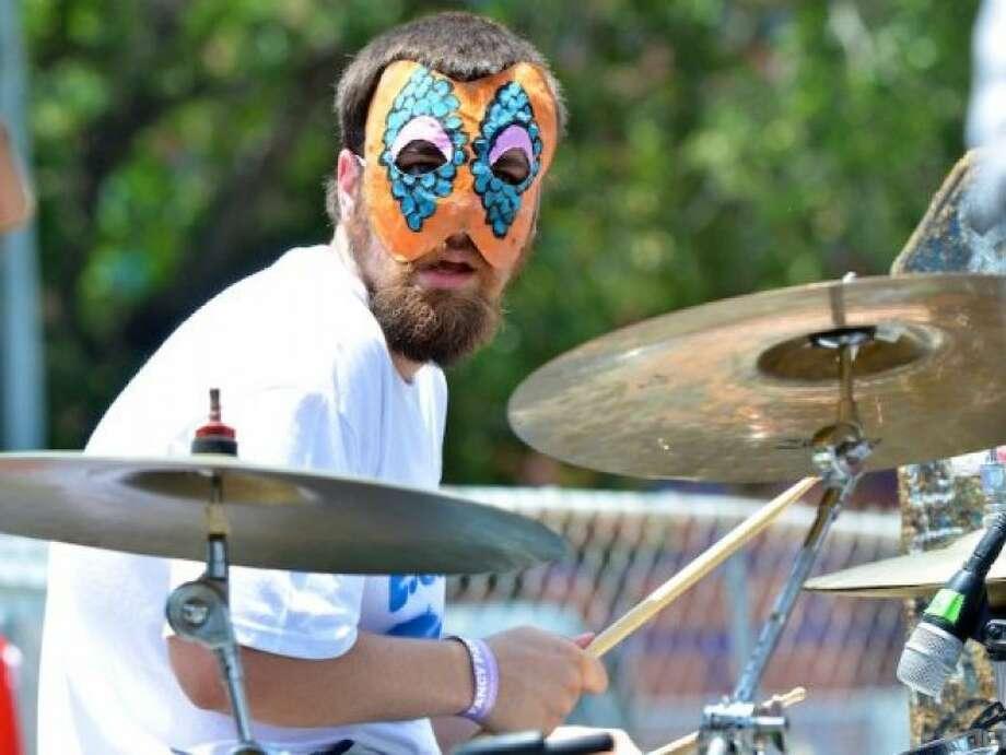 Masks for the bands.