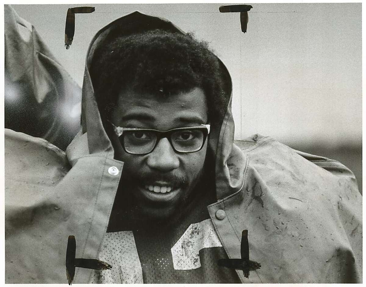 Chuck Muncie was a star running back for Cal during the 1970s. Photo was taken in 1975.