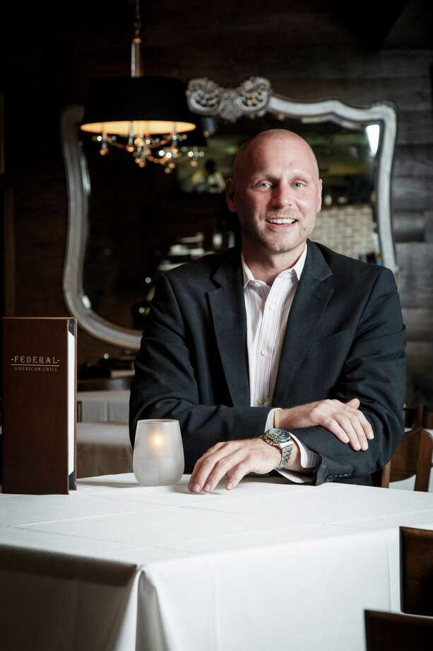 Matt Brice's focus at the Federal Grill is excellent food but also excellent service. Photo: Michael Paulsen, Staff / © 2013 Houston Chronicle