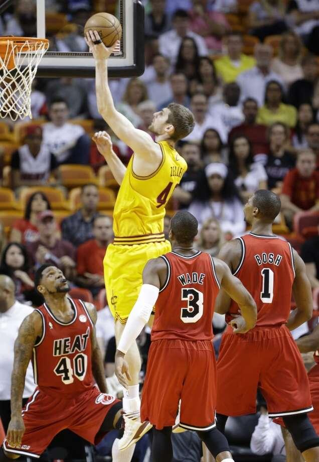 PF Tyler Zeller, Cleveland Cavaliers