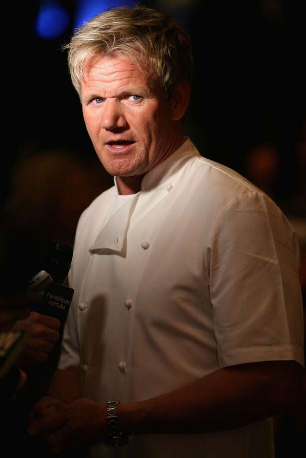 "Gordon Ramsay attends the opening party of the Crown Metropol hotel on April 21, 2010. Ramsay will visit The Curtis House in Woodbury from May 11-14 to film for the latest season of ""Hotel Hell."""
