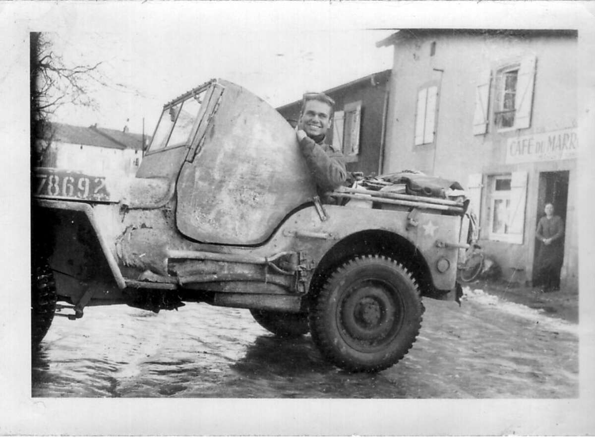 Ghost Army soldier Bill Blass, who served in the unit and later earned international fame as a fashion designer.