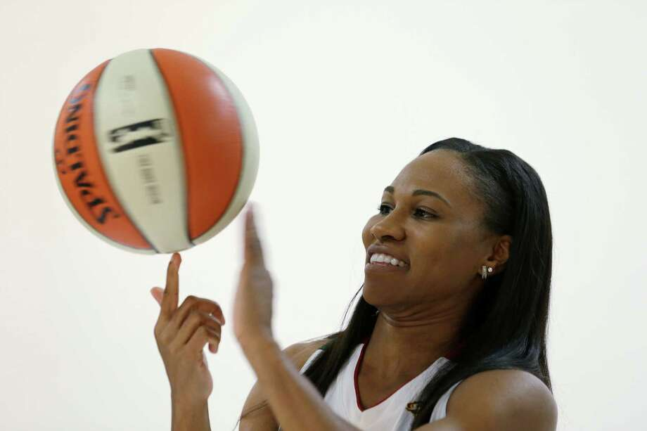 Seattle Storm's Tuesday, May 14, 2013 during the team's media day in Seattle. The Storm opens their regular season Sunday, May 26, at Los Angeles. Photo: Elaine Thompson, AP / AP