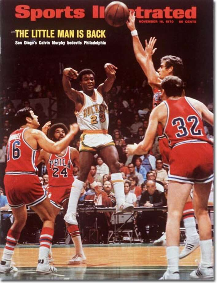 After an outstanding career at Niagara, Norwalk's Calvin Murphy was a second-round pick in the 1970 NBA draft. The 5-foot-8 Naismith Hall of Fame guard was just beginning his All-Rookie 1970-71 season when he made SI front on Nov. 18, 1970. Photo: Sheedy & Long