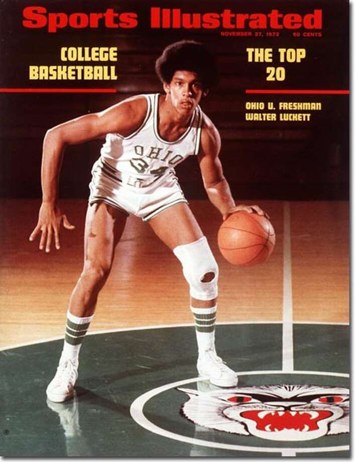 "Bridgeport's Walter Luckett hadn't even played a game at Ohio University when the Kolbe superstar suddenly found himself on the cover of SI on  November 27, 1972 and declared he'd ""drive those rascals wild"" in his first collegiate game vs. Missouri. Luckett shot 3-for-12 in that game, but wound up averaging 13.5 ppg in his freshman year. Luckett seemed destined for NBA stardom when he averaged 25 ppg and  declared for the draft as a junior. But a knee injury kept him from playing a single game. Photo: Eric Schweikardt"
