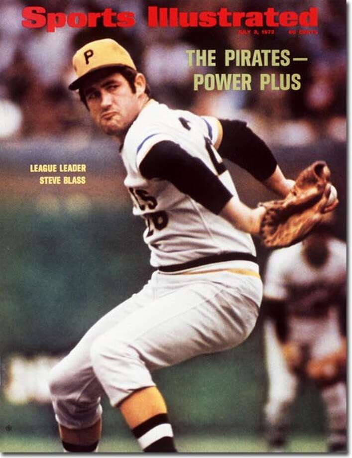 "Was this the first SI Cover Jinx? Canaan's Steve Blass was at the apex of his pitching career with the Pittsburgh Pirates when he hit SI's cover on July 3, 1972. The previous year, he finished second in Series MVP voting to teammate Roberto Clemente and pitched two complete-game victories as the Pirates won the World Series over the Orioles.  But in 1973, just a year after his cover shot, Blass suddenly, inexplicably couldn't find the plate and his career finally flamed out in two years. His affliction has been called ""Steve Blass disease,"" and has struck notable players like Rick Ankiel, Chuck Knoblauch, Mark Wohlers and Dontrelle Willis. Photo: Neil Leifer"