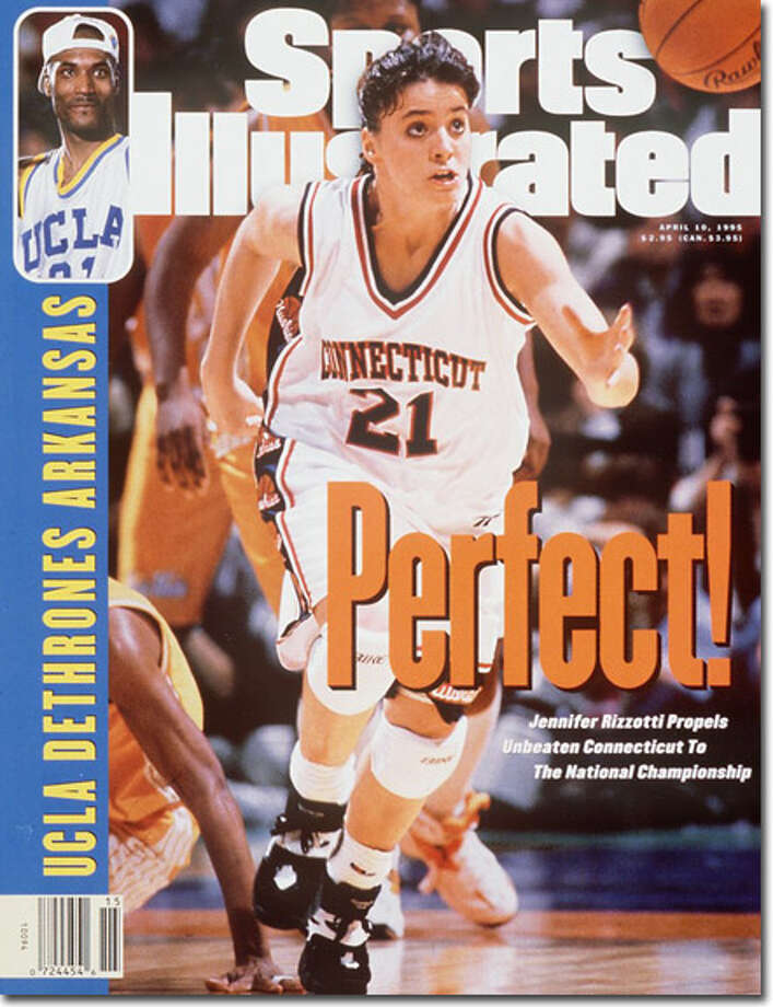While most of the country was saw Ed O'Bannon and 1995 NCAA champion UCLA on the cover of Sports Illustrated, UConn country got a gander of New Fairfield's Jen Rizzotti and the unbeaten 1995 UConn women's basketball national champions.