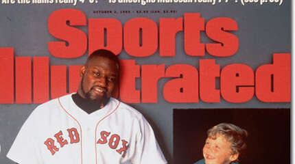 Before there was Big Papi, Norwalk's Mo Vaughn was the outspoken, big-bodied, big-hitter of the Red Sox lineup. He batted .300, hit 29 home runs, had 129 RBIs in 1995 as Boston reached the AL playoffs in the first year of the wildcard expansion round. Vaughn won the AL MVP, and was SI's coverboy on the eve of the playoffs. But Cleveland swept the Sox 3-0. Vaughn's differences with management led him to sign a free-agent contract with the Angels in 1998.