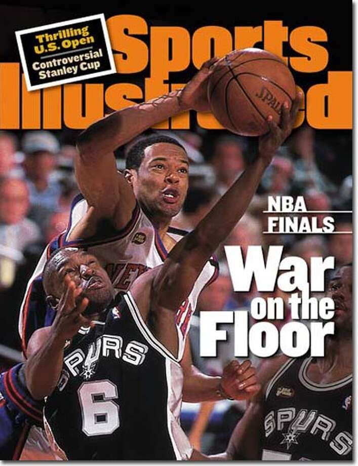 Hartford's Marcus Camby didn't get a Sports Illustrated cover until he was a member of the New York Knicks during their run to the 1999 NBA Finals as the No. 8 seed. Camby, who was traded from Toronto in 1998, averaged 9.6 points, 7.8 rebounds and 2 blocks in The Finals, but the Spurs won the championship 4 games to 1.