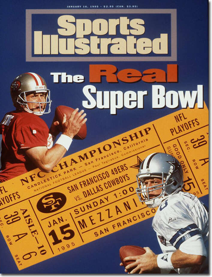 Third time's the charm? Having been bested by Aikman and the Cowboys in two consecutive NFC championships, Young and the 49ers were poised to meet their nemesis again for the NFC title in the 1994 NFL Playoffs. SI declared the game 'The Real Super Bowl' on Jan. 16, 2005.
