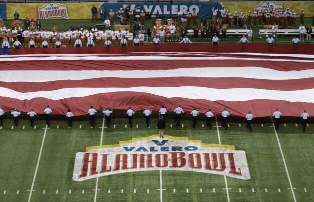 The Alamo Bowl appears to be in position to take a step up the bowl ladder when the recently created College Football Playoff begins in the 2014-15 season. Photo: Eric Gay / Associated Press