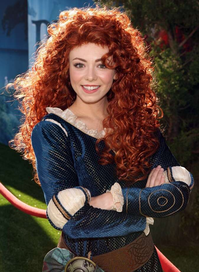 A model portrays Princess Merida at the Film Independent's 2012 Los Angeles Film Festival Premiere of Disney Pixar's 'Brave' at Dolby Theatre on June 18, 2012 in Hollywood, Calif.