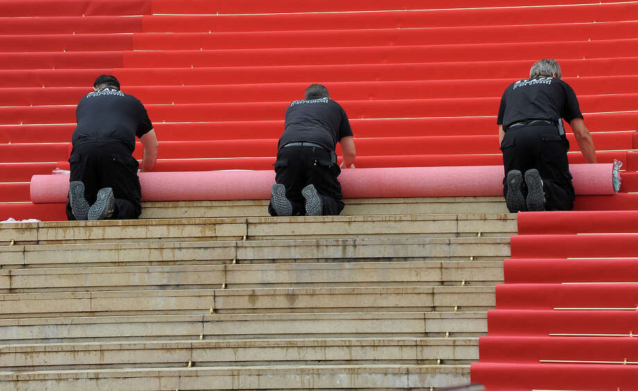 The Red Carpet is laid on the Opening Day of the 66th Annual Cannes Film Festival on May 15, 2013 in Cannes, France. Photo: Stuart C. Wilson, Getty Images / 2013 Getty Images