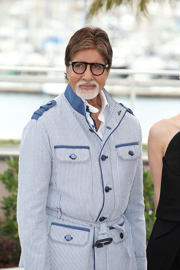 Amitabh Bachchan attends the photocall for 'The Great  Gatsby' at The 66th Annual Cannes Film Festiva at Palais des Festivals on May 15, 2013 in Cannes, France. Photo: Mike Marsland, WireImage / 2013 Mike Marsland