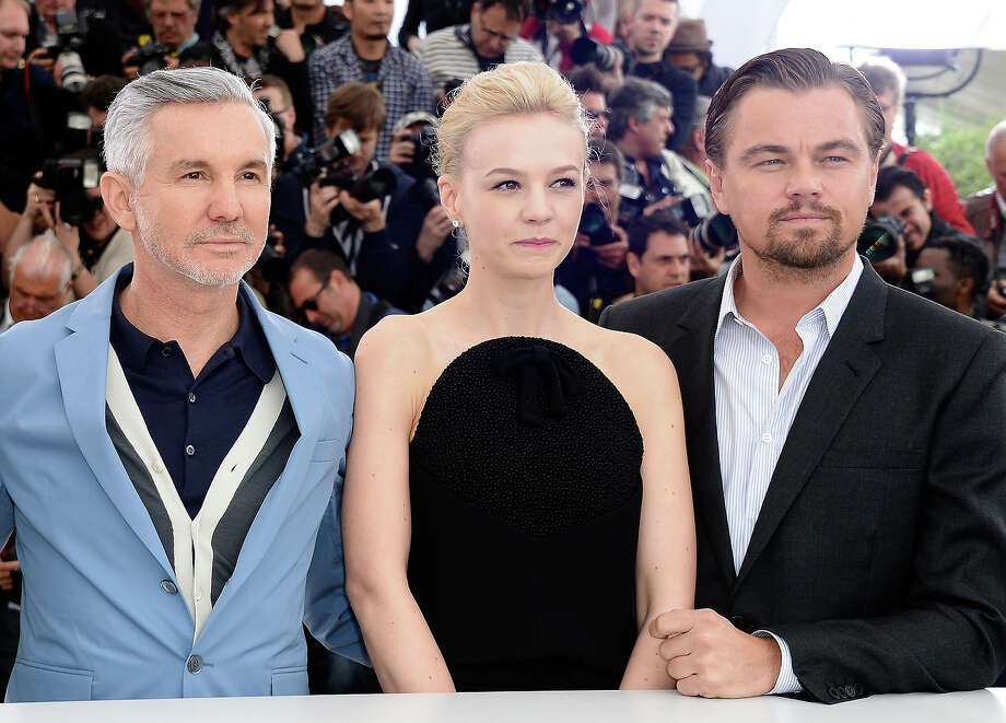 Director Baz Luhrmann, (L-R) ,actress Carey Mulligan and Actor Leonardo DiCaprio attend 'The Great Gatsby' photocall during the 66th Annual Cannes Film Festival at the Palais des Festivals on May 15, 2013 in Cannes, France. Photo: Pascal Le Segretain, Getty Images / 2013 Getty Images