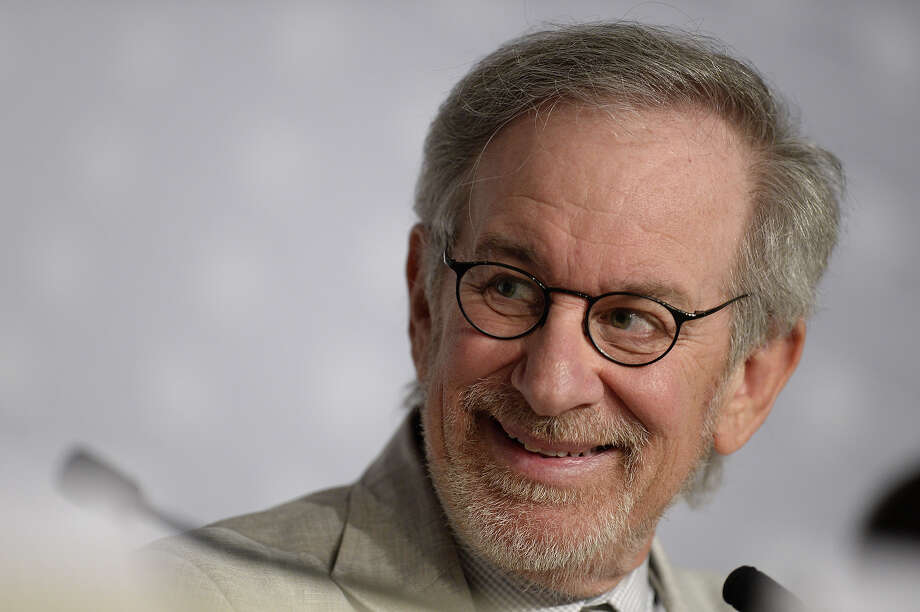 US director and President of the Feature Film Jury Steven Spielberg smiles on May 15, 2013 while attending a press conference of the Feature Film Jury ahead of the opening of the 66th edition of the Cannes Film Festival on May 15, 2013 in Cannes. Cannes, one of the world's top film festivals, opens on May 15 and will climax on May 26 with awards selected by a jury headed this year by Hollywood legend Steven Spielberg. Photo: ANNE-CHRISTINE POUJOULAT, AFP/Getty Images / 2013 AFP