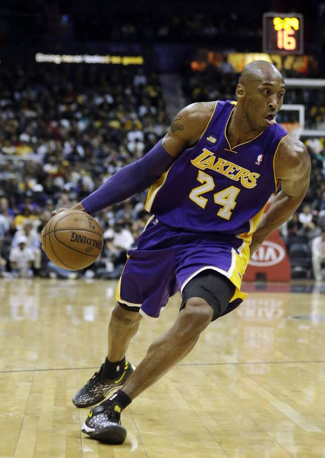 4. Kobe Bryant  Los Angeles Lakers guard  $46.9 million