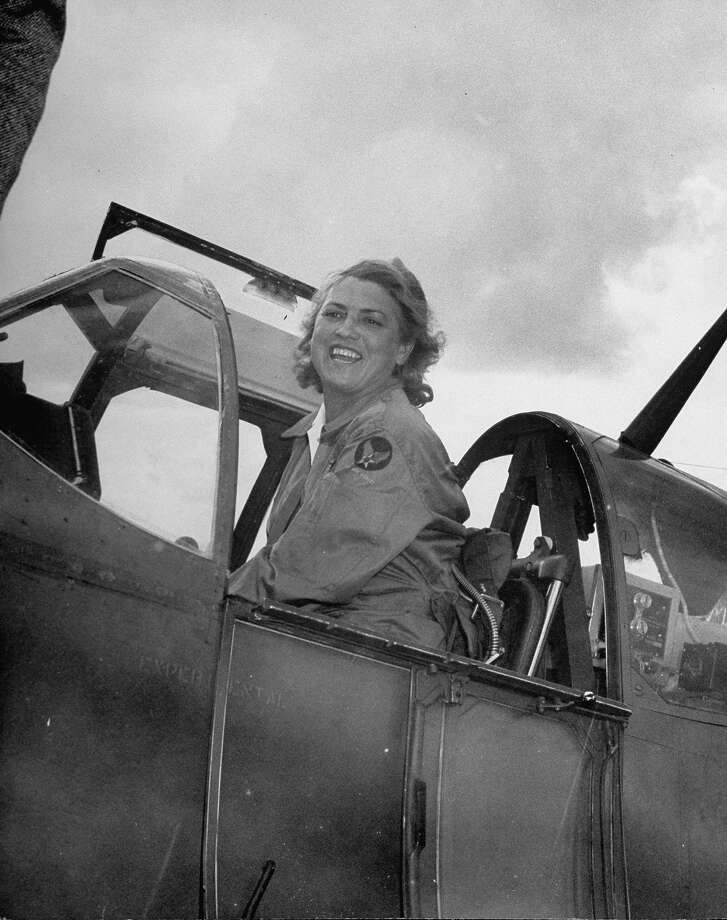 1953: Pilot Jackie Cochran became the first woman to break the sound barrier. Photo: Frank Scherschel, Time & Life Pictures/Getty Image / Time Life Pictures