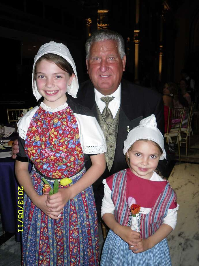 Were you Seen posing with Albany Mayor Jerry Jennings?  At the Royal Tulip Ball this year on May 11 and in the photo are Alexandra and my youngest daughter Callista.  Submitted by Jim Schermerhorn. Photo: (Reader-submitted) / Copyright 2008