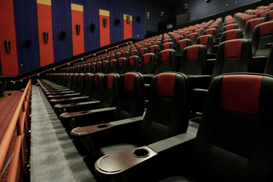The 22-theater Santikos Palladium features a variety of seating options. Photo: Melissa Phillip, Staff / © 2013  Houston Chronicle