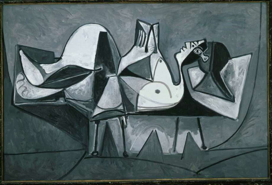 """Picasso Black and White"" in on view until May 27. / © 2013 Eric Kayne"