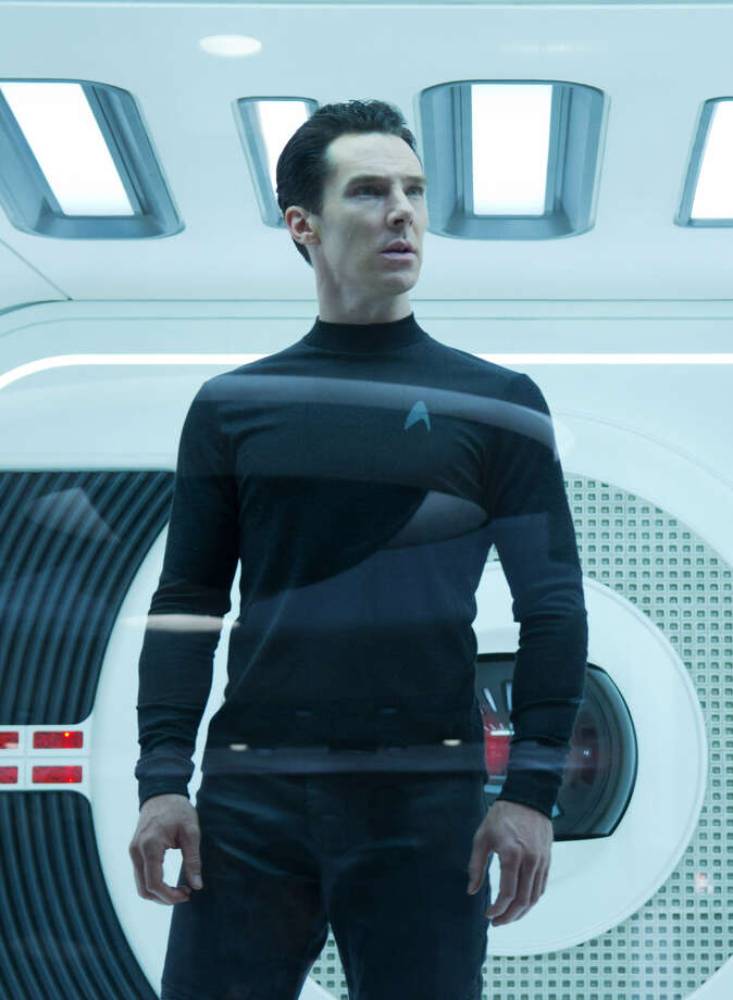 A terror mastermind (Benedict Cumberbatch) shakes up the Federation. Photo: Paramount Pictures
