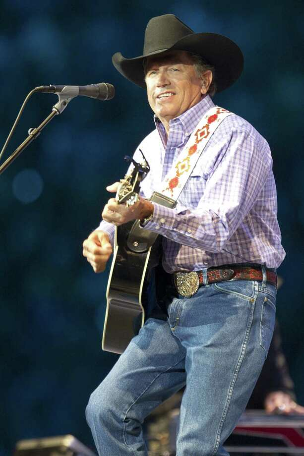 George Strait will perform June 1 at the Alamodome. Photo: Brett Coomer / Houston Chronicle