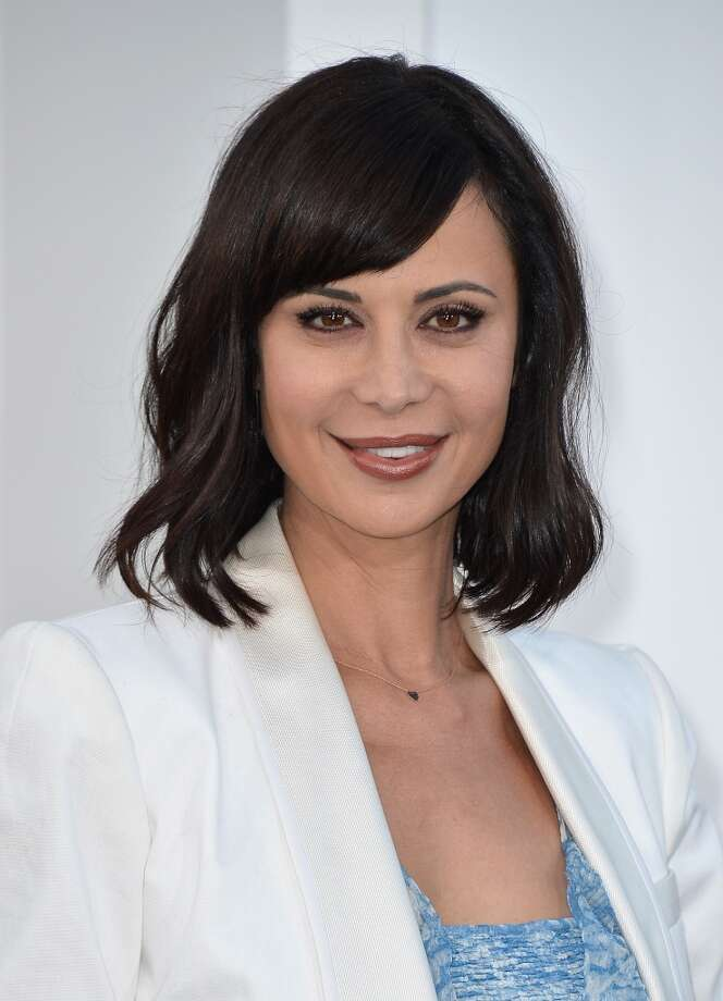 "HOLLYWOOD, CA - MAY 14:  Actress Catherine Bell arrives at the premiere of Paramount Pictures' ""Star Trek Into Darkness"" at Dolby Theatre on May 14, 2013 in Hollywood, California.  (Photo by Frazer Harrison/Getty Images)"